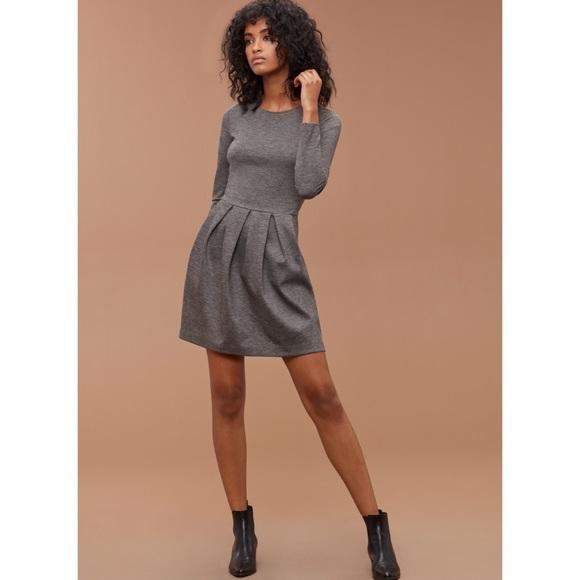 75f440ca98 Aritzia Dresses & Skirts - NWT Talula Aritzia Lambeth Dress Nep Heather Grey